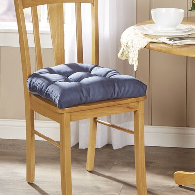 Wayfair Basics Chair Cushion Fabric: Navy