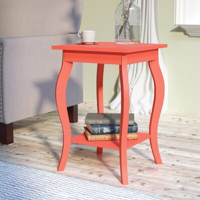 Joris End Table Color: Desert Coral
