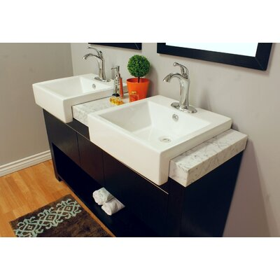58 Double Bathroom Vanity Set