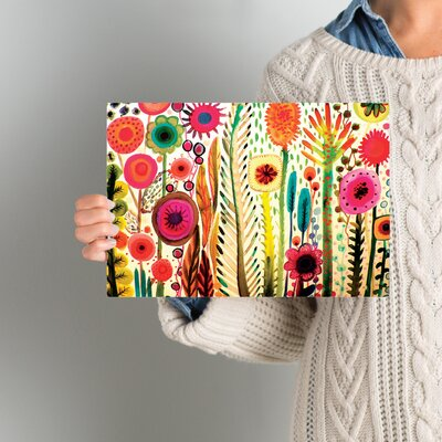 Printemps Painting Print on Wrapped Canvas Size: 8