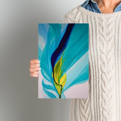 Reaching Out! Painting Print on Wrapped Canvas Size: 8