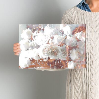 Rose Gold Feast Graphic Art on Wrapped Canvas Size: 10