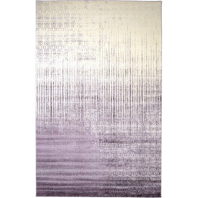 Ronit Purple Area Rug Rug Size: 106 x 165