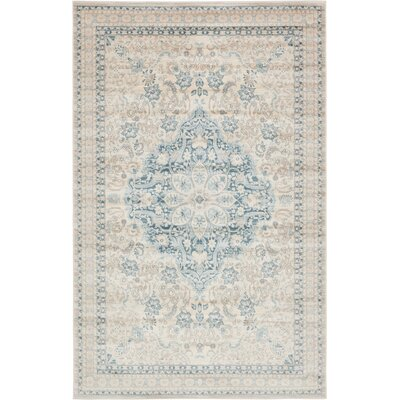 Mellal Beige Area Rug Rug Size: Rectangle 8 x 10