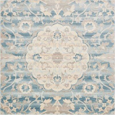 Mellal Blue Area Rug Rug Size: 8 x 10