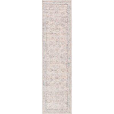 Ouellette Beige Area Rug Rug Size: 3 x 10
