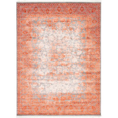 Colebrook Terracotta Area Rug Rug Size: 9 x 12