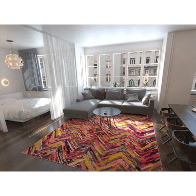 Fujii Area Rug Rug Size: Rectangle 33 x 53