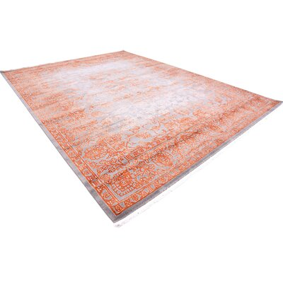 Colebrook Terracotta Area Rug Rug Size: Rectangle 10 x 13
