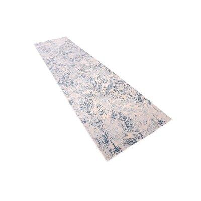 Mellal Blue Area Rug Rug Size: Runner 27 x 10
