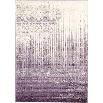 Ronit Purple Area Rug Rug Size: 7 x 10