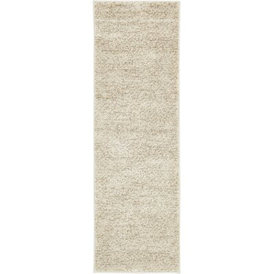 St Philips Marsh Cream Area Rug Rug Size: Runner 22 x 67