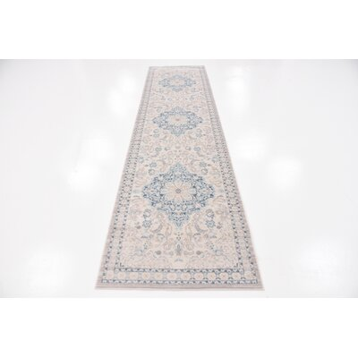 Mellal Beige Area Rug Rug Size: Rectangle 4 x 6