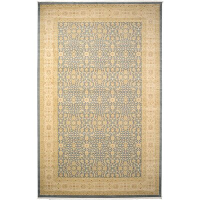 Willow Blue/Beige Area Rug Rug Size: 106 x 165