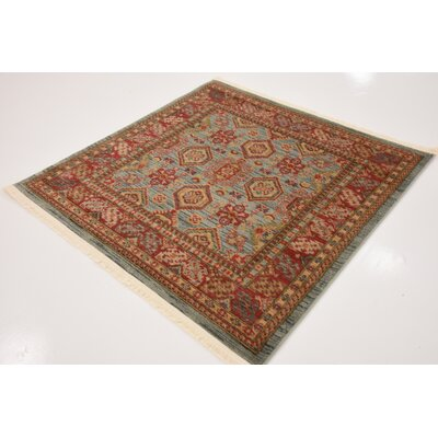 Valley Red Area Rug Rug Size: Square 4
