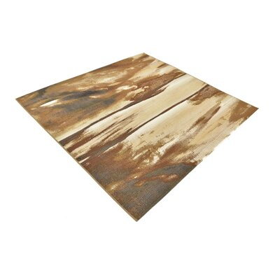 Skylar Brown Indoor/Outdoor Area Rug Rug Size: Square 6