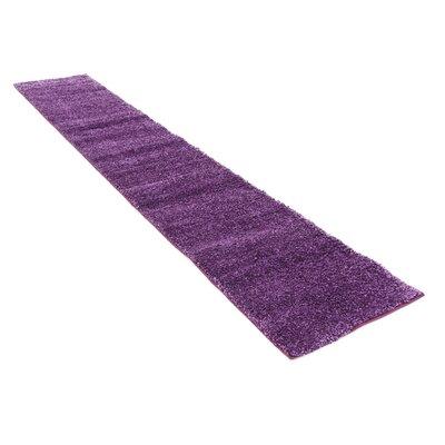 Truett Violet Area Rug Rug Size: Runner 22 x 67