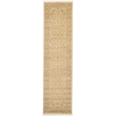 Fonciere Cream Area Rug Rug Size: Runner 27 x 10