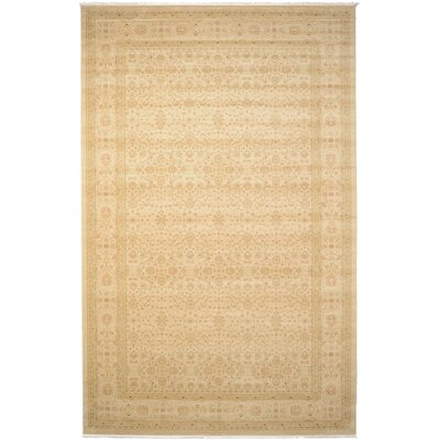Willow Cream/Beige Area Rug Rug Size: 106 x 165