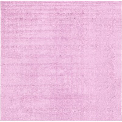 Maxine Lavender Area Rug Rug Size: 13 x 13