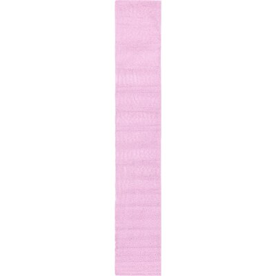 Maxine Lavender Area Rug Rug Size: Runner 3 x 16