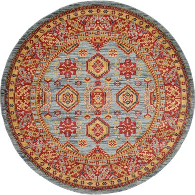 Valley Red Area Rug Rug Size: Rectangle 33 x 53