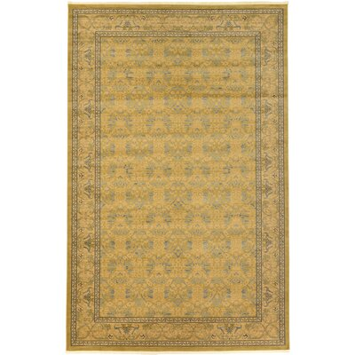 Fonciere Tan Area Rug Rug Size: Rectangle 106 x 165