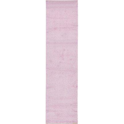 Maxine Lavender Area Rug Rug Size: Runner 3 x 82