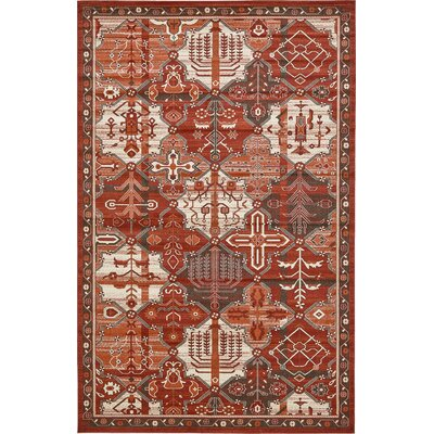Irma Terracotta Area Rug Rug Size: Rectangle 10' x 16'