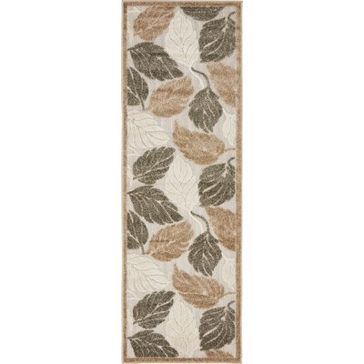Brimfield Beige Indoor/Outdoor Area Rug Rug Size: Runner 2 x 6