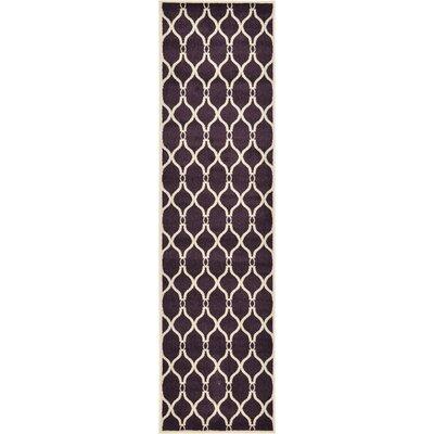 Moore Purple Area Rug Rug Size: Runner 2'7