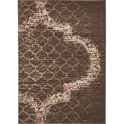 Steinbeck Brown Area Rug Rug Size: Rectangle 4 x 6