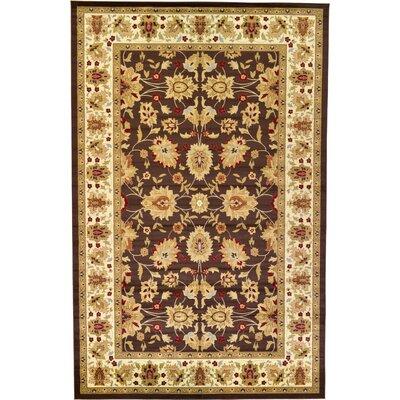 Fairmount Brown Area Rug Rug Size: 106 x 165