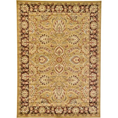 Fairmount Tan Area Rug Rug Size: 7 x 10