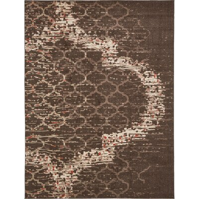 Steinbeck Brown Area Rug Rug Size: 9 x 12