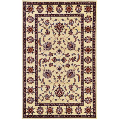 Fairmount Cream Oriental Area Rug Rug Size: Rectangle 5 x 8