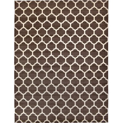 Moore Brown Area Rug Rug Size: 122 x 16