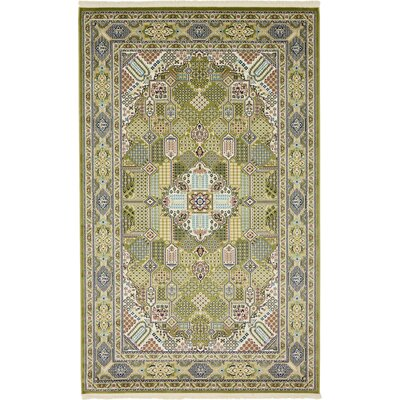 Jackson Green Area Rug Rug Size: Rectangle 3 x 5