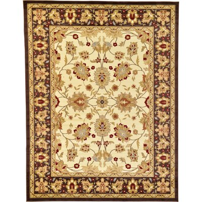 Fairmount Cream Area Rug Rug Size: 9 x 12