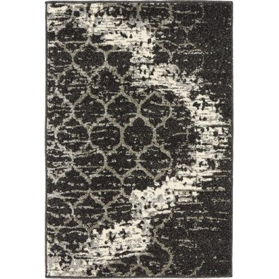 Steinbeck Charcoal Gray Area Rug Rug Size: Rectangle 7 x 10