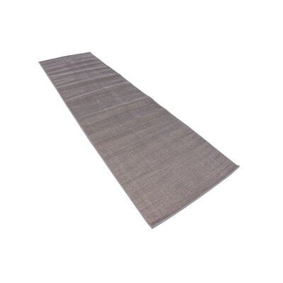 Bayswater Gray Area Rug Rug Size: Runner 29 x 91