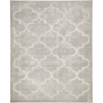 Moore Gray Area Rug Rug Size: Rectangle 8 x 10
