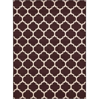 Moore Brown Area Rug Rug Size: Rectangle 4 x 6