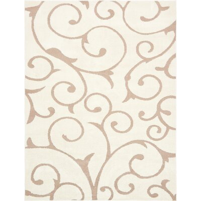 Sorrento Ivory Area Rug Rug Size: Rectangle 5 x 8