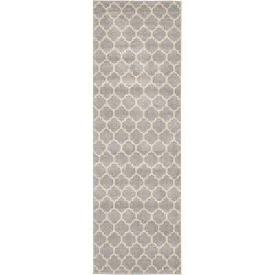 Moore Gray Area Rug Rug Size: Rectangle 122 x 16