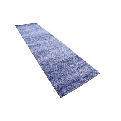 Barna Blue Area Rug Rug Size: Runner 3 x 10