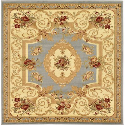 Patton Gray Area Rug Rug Size: Square 6