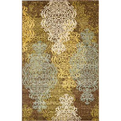 Marengo Brown Area Rug Rug Size: Rectangle 5' x 8'