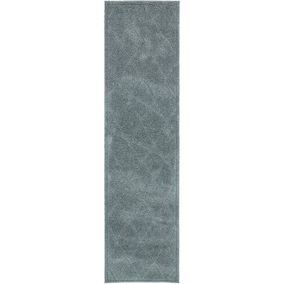 Catherine Light Blue Area Rug Rug Size: Runner 27 x 10