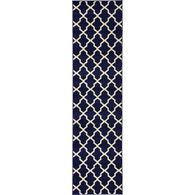 Moore Blue Area Rug Rug Size: Runner 27 x 10